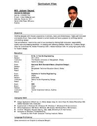 100 Academic Resume Templates Examples Of Resumes Example
