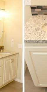 bathroom counter and cabinet remodel wi