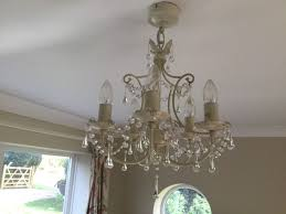 laura ashley chella light fittings cream chandeliers 5 arm vintage style