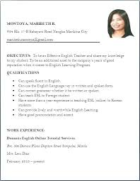 Resume Templates For Wordpad Mesmerizing Free Resume Templates Template Simple Rmat Download In Page Sample A