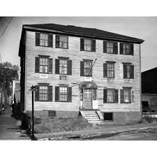 Facade Of A House Birthplace Of Henry Wadsworth Longfellow Portland Maine Usa Canvas Art 18 X 24