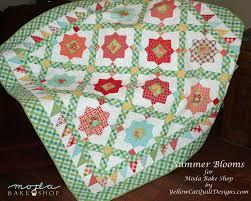 Summer Garden Quilt Â« Moda Bake Shop & Summer Blooms1watermark Adamdwight.com
