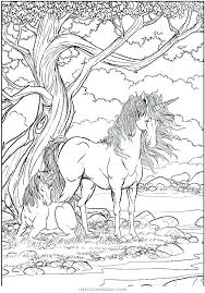 Unicorn Coloring Pages Free Printable Unicorn Coloring Pages Rainbow
