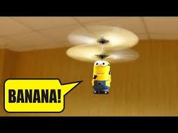 <b>Летающий миньон</b>, прикольная игрушка из Китая! - YouTube