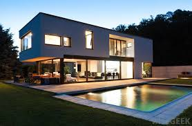 home swimming pools at night. Swimming Pools Can Increase The Value Of A Home. Home At Night O