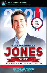 Political Event Flyer Political Flyer Template 9 By Psd Fundraiser