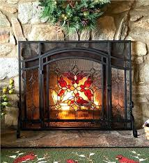 beveled glass fireplace screen beveled glass diamond fireplace screen