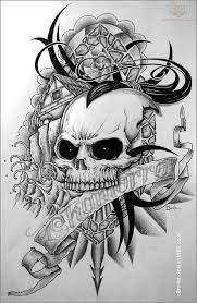 Skull Tattoo Patterns