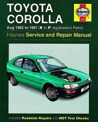 toyota corolla workshop service and maintenance manual toyota Haynes Wiring Diagrams toyota corolla workshop service and maintenance manual toyota corolla petrol 1992 wiring diagram haynes wiring diagram symbols