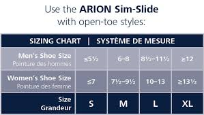 Sim Size Chart Sim Slide Donning And Doffing Aid