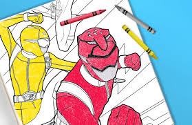 The collection is varied with different variations and characters. Power Rangers Coloring Sheets Printable Toys R Us