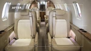arr learjet 45 interior re design and installation