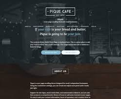 best one page wordpress themes themegrill pique one page wordpress themes collection