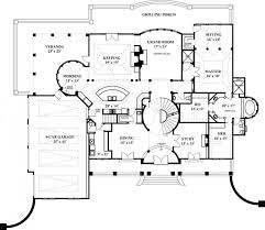 Marcello House Plans   Home Plans By Archival DesignsSouthern Luxurious Colonial House Plan Marcello First Floor Plan