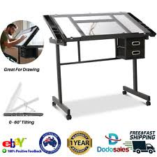 Adjustable Height <b>Drafting Table</b> Home Office Furniture for sale | eBay