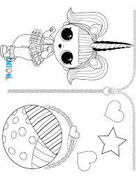 Unicorn Da Colorare Serie 3 Lol Surprise Cartoni Animati