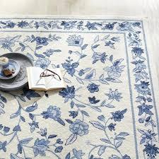 blue fl area rugs
