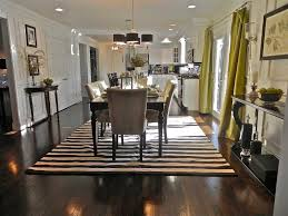 Fascinating Monochrome Gives Your Dining Room Glamorous Look Also