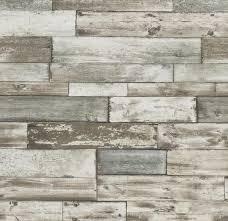 Soffitto In Legno Grigio : Staccionata shabby chic parati effetto legno grigio marrone beige