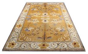 the art and crafts movement grew out of the wool rugs design revolution sed by english