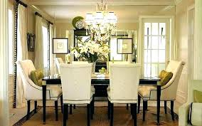 chandelier height above table dining image of captivating room chandeliers recommended