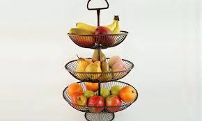 countertop fruit basket useful 3 tier decorative wire fruit basket stand uh kitchen countertop fruit baskets