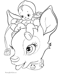 002 Reindeer Coloring Gif 670 X 820 My Coloring Pages Coloring