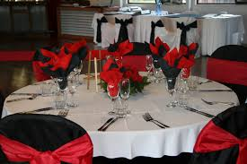 red and white table decorations. Wedding Decoration Inspiring Dining Table For Red And White Decorations A
