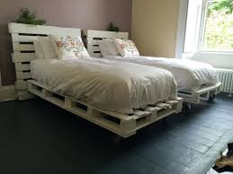 Bed Frame Made Of Pallets And Lights 26 Luxury Wood Pallet Bed Ideas Wood Pallet Bed Bed Frame