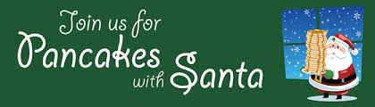 Image result for pancakes with santa
