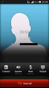 J E Z mod dual j Call Screen Xperia Sony Miro Tipo