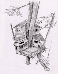 simple architecture design drawing. Beautiful Design Simple Tree House Drawing Sketch Coloring Page View Larger Image  Architecture And Design Museum With Architecture Design T
