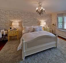 Small Chandelier For Bedroom Unique Small Chandelier Design With Textured Rug And Wooden Bed
