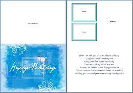 Free Greeting Card Templates Word Free Birthday Card Templates Word Rome Fontanacountryinn Com