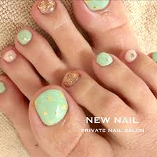 春夏旅行女子会フット Newnailのネイルデザインno3248805