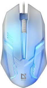 Проводная оптическая <b>мышь Defender Cyber</b> MB-560L 7цветов ...