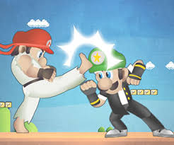 mario street fight 2 player games play mario street fight game at tlayer