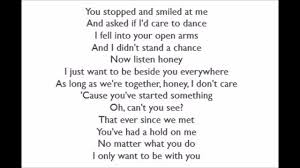 I Only Want To Be With You - Dusty Springfield (Lyrics) - YouTube