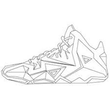 Pin Drawn Sneakers Lebron Shoe #11  PinArt