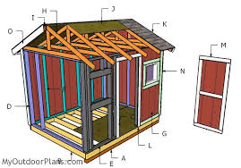 8 10 gable shed roof plans building a 8x10 garden shed