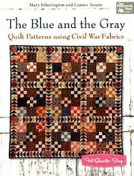 35 best Quilt Pattern Books CW images on Pinterest | Civil war ... & The Blue and the Gray: Quilt Patterns for Civil War Fabrics Quilt Book That  Patchwork Adamdwight.com