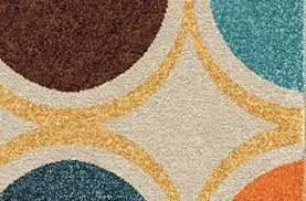 teal and orange area rug modern archive with tag blue rugs coursecanary com for within 5