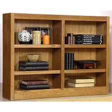 Amazon.com: Midas Six Shelf Double Bookcase 36