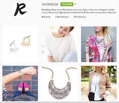 rocksbox insram profile