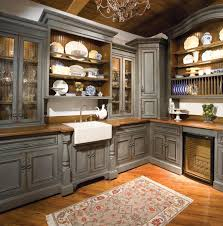traditional open kitchen designs. Kitchen Cabinets, Grey Rectangle Traditional Wooden Open Cabinet Ideas Stained For Cabinets Designs