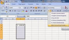 Cara Merubah Mata Uang Dollar Menjadi Rupiah Di Microsoft