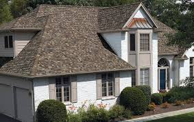 owens corning architectural shingles colors.  Colors A White Brick House Shows Off The Dynamic Color Of Sand Dune Light Brown  Shingles Paired For Owens Corning Architectural Shingles Colors E