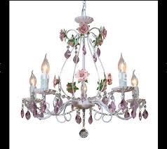 modern white european chandelier lamp re light 3l 5l 8l pink rose flower light fixture e14 decoration lamp kitchen chandeliers french chandelier from