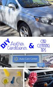 diy leather conditioner car cleaning tips
