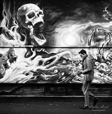 walking through street art in uk photo essay edge of humanity   hellraier